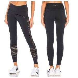 Stella McCartney Adidas Perforated Training Tights